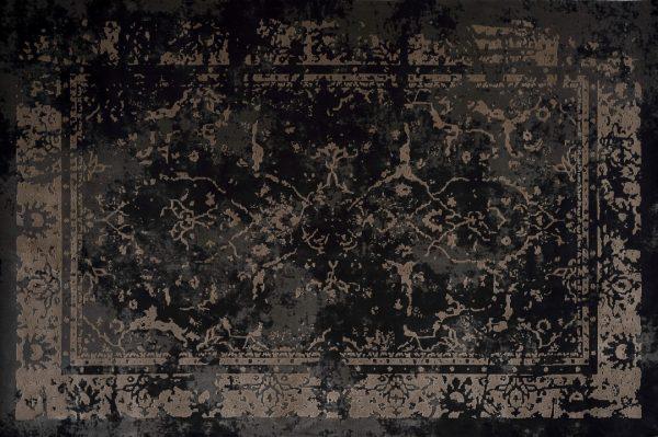 فرش الگانت کد ۲۵۳۵ زغالی