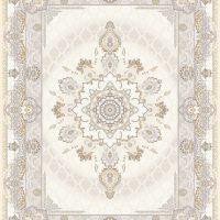 فرش اشرافی کد1387 کرم