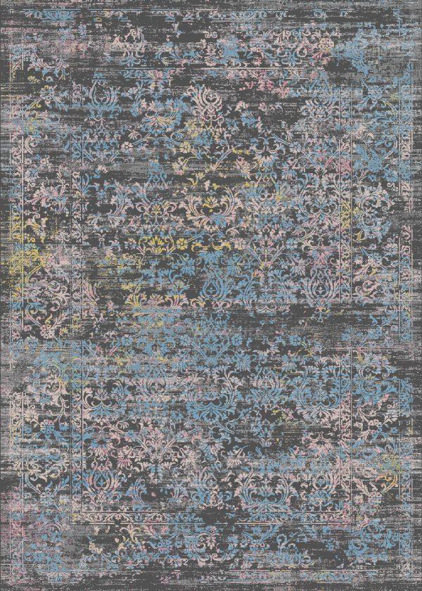 فرش الگانت کد 2564 زغالی