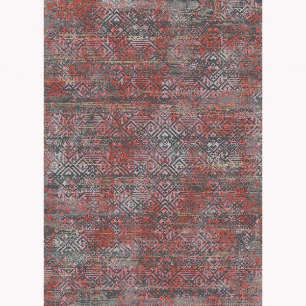 فرش ماشینی الگانت کد ۲۵۸۳ زغالی
