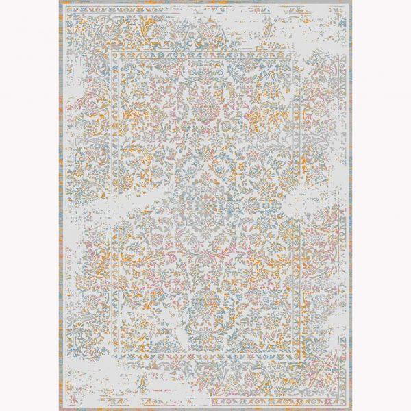 فرش ماشینی الگانت کد ۲۵۹۱ نقره ای