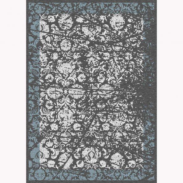 فرش ماشینی الگانت کد ۲۶۰۱ زغالی