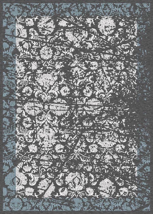 فرش الگانت کد2601 زغالی