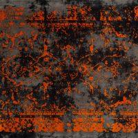فرش الگانت کد ۲۵۳۷ زغالی