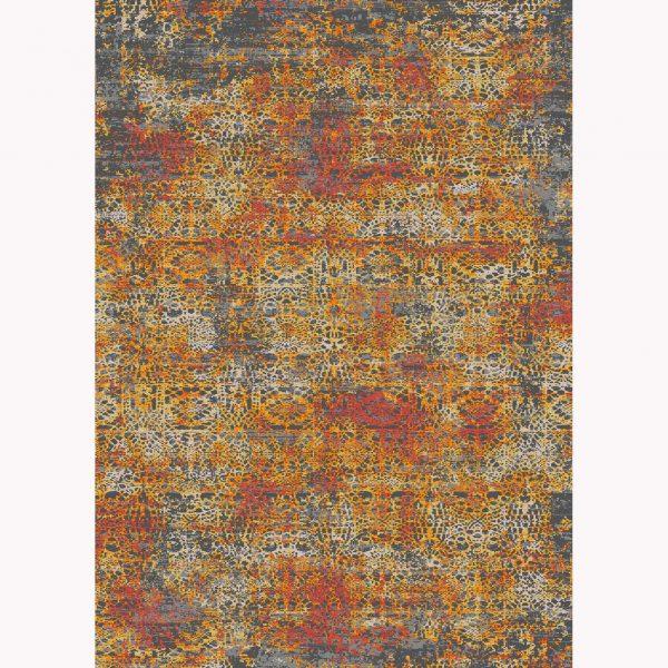 فرش ماشینی الگانت کد ۲۵۶۲ زغالی