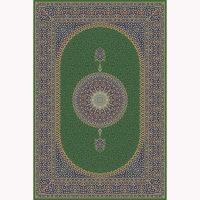 فرش ماشینی حریر کد ۵۰۶۵ سبز