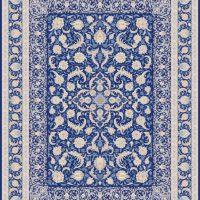 فرش اشرافی کد ۱۳۶۳ سرمه ای