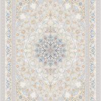 فرش اشرافی کد ۱۳۷۵ نقره ای