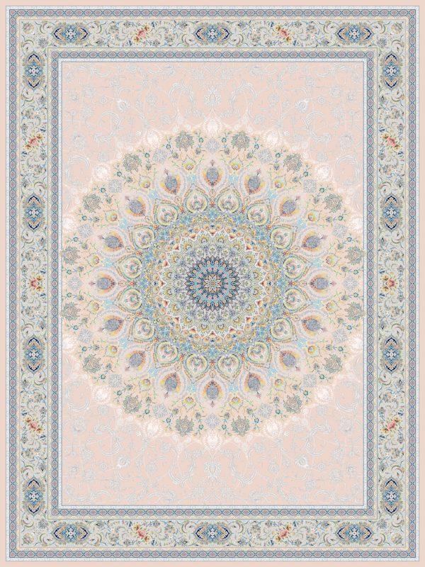 فرش اشرافی کد ۱۵۰۵ کرم
