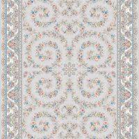فرش اشرافی کد ۱۵۹۳ نقره ای