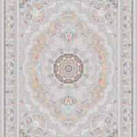 فرش اشرافی کد 1599 نقره ای