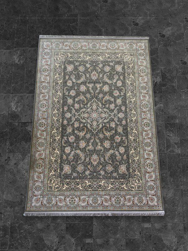 فرش اشرافی ۱۵۶۳ زغالی