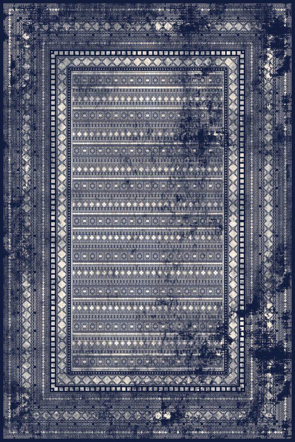 فرش شازده کد ۵۱۷۱ سرمه ای
