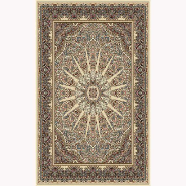 فرش ماشینی کرمان کد ۶۱۰۱ کرم