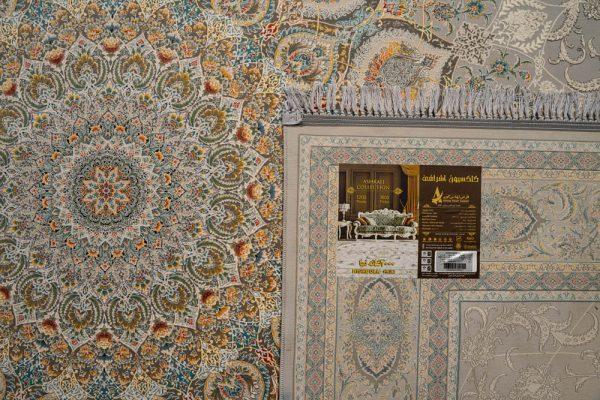 فرش اشرافی ۱۵۰۵ نقره ای