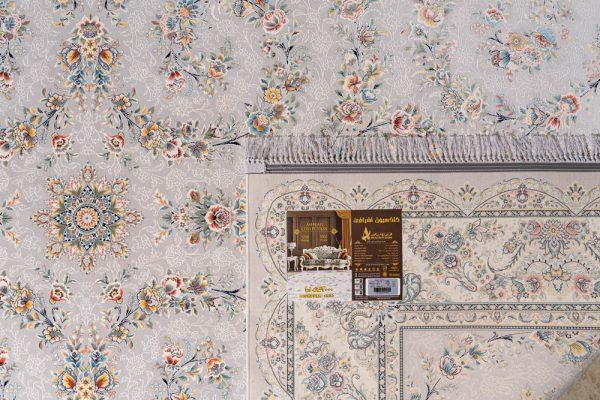 فرش اشرافی ۱۵۹۳ نقره ای