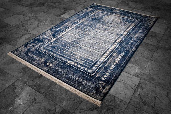 فرش ماشینی کد ۵۱۷۱ سرمه ای