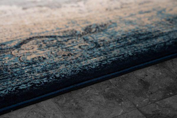 فرش ماشینی شازده ۵۱۷۳ سرمه ای