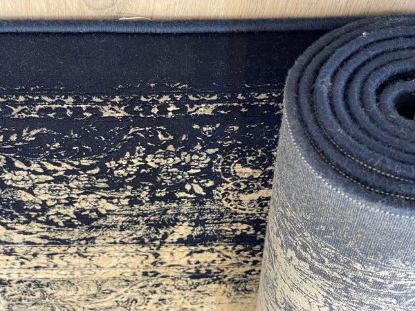 فرش ماشینی شازده ۵۱۷۳ ذغالی