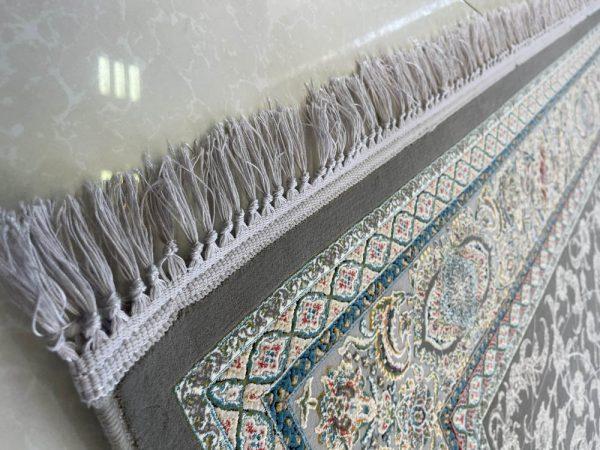 فرش اشرافی کد ۱۵۰۵ ذغالی